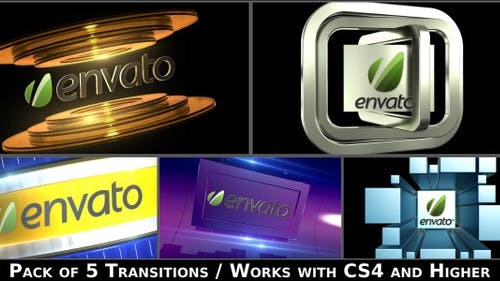 Broadcast Logo Transition Pack V2