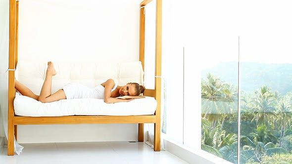 Thumbnail for Woman Enjoying Tropical Luxury