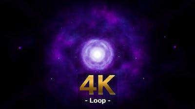 Purple Nebula Background