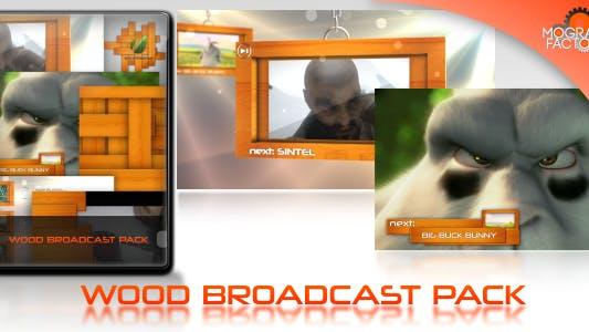Wood Broadcast Pack