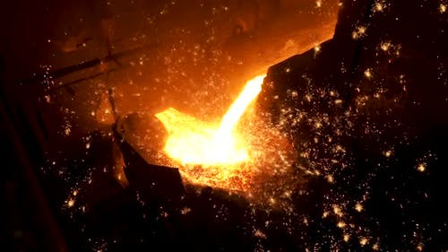Smelting Of The Metal