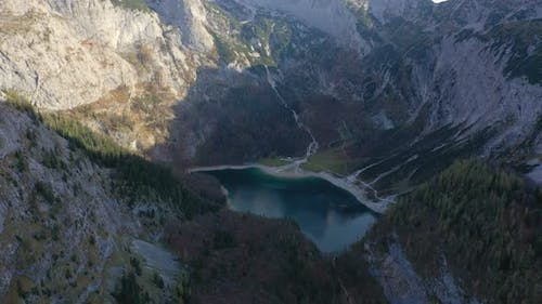 Aerial View Of Gosausee Lake