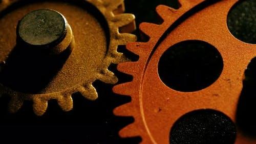 ingenuity, ideas, progress: wheels spinning