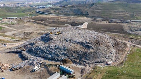 Thumbnail for Large Garbage Dump Landfill