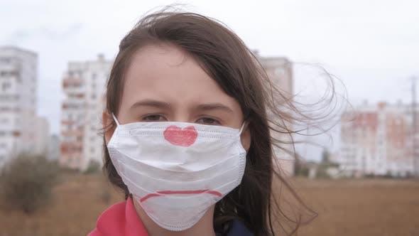 Mask against influenza.