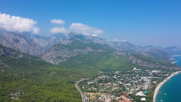 Thumbnail for Aerial View Beldibi Village Turkey