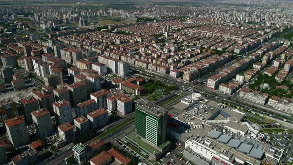 Thumbnail for City Buildings Aerial View