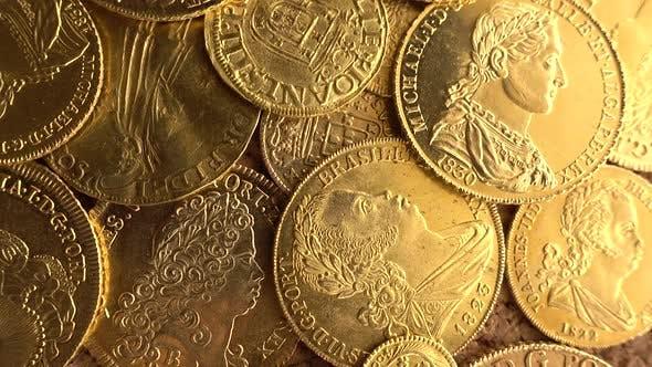 Thumbnail for Rotating Gold Coins