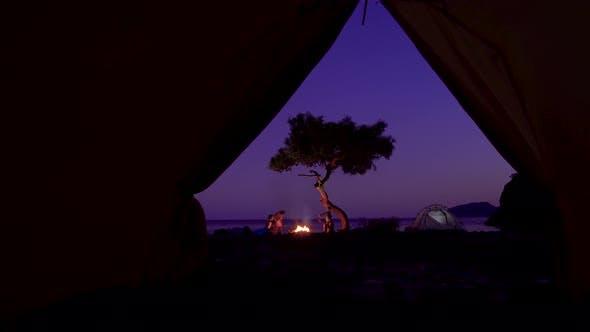 Thumbnail for Tourist Camp am Mittelmeer