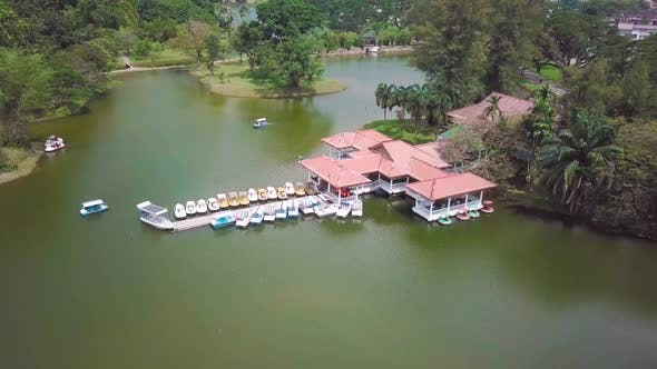 Thumbnail for Taiping Lake Jetty Drone Shot
