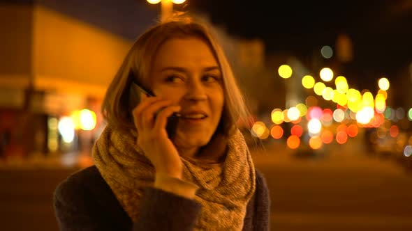 Thumbnail for Midnight Girl Uses A Smart Phone 10