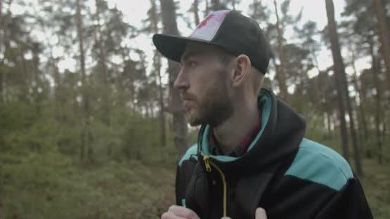 Thumbnail for Young Hiking Man