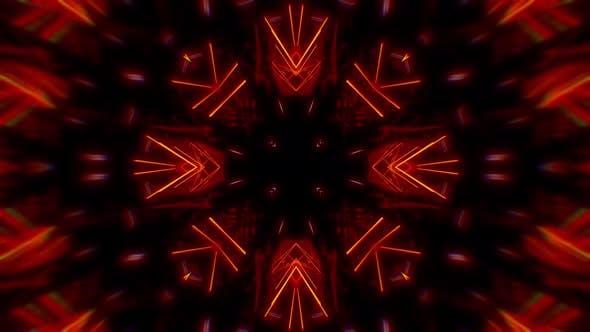 Light Kaleidoscope Mandala