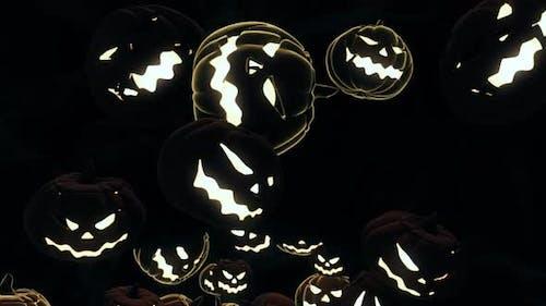 Halloween Kürbis 03 HD