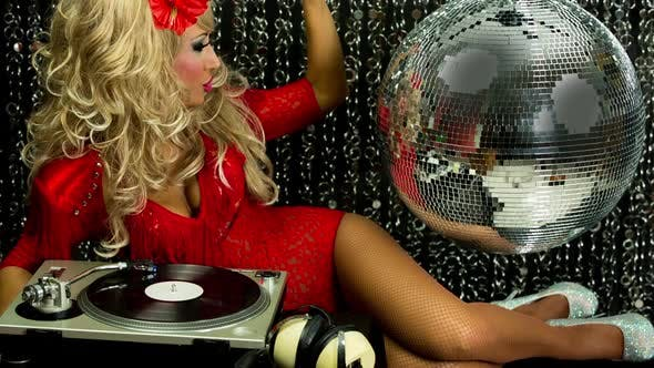 Thumbnail for Sexy Disco Female Drag Queen Glamour Party Music Dj Burlesque