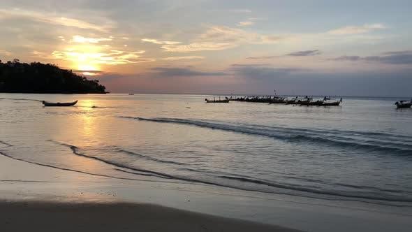 Thumbnail for Sunset at Kamala Beach