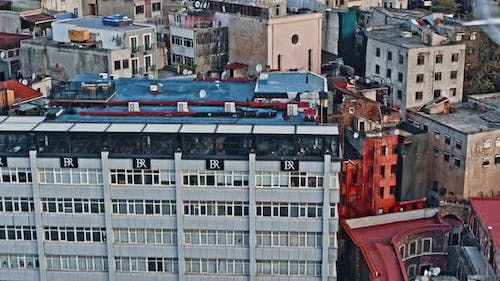 Ancient Galata Of Istanbul