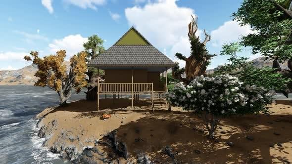 Thumbnail for Beach house on stilts
