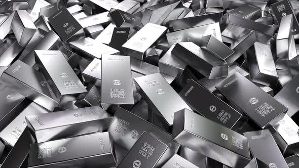 Thumbnail for 1 Kilo Silver Bars Scattered