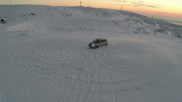 Thumbnail for Car Drift In Snow