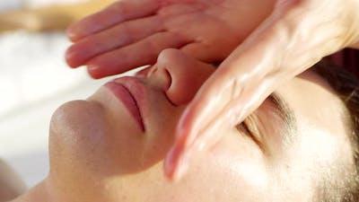 Male Facial Massage