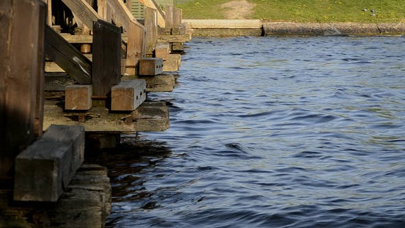 Thumbnail for Wooden Bridge on The River
