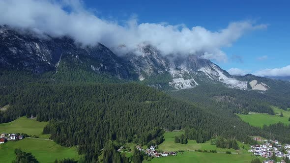 Thumbnail for Astonishing Scenery of Italian Dolomites in Clouds