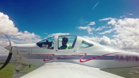 Thumbnail for Pilot in Flight School