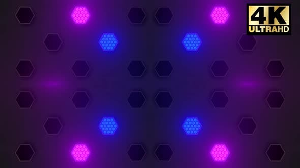 12 Hex Stage Lights Pack