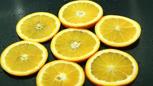 Thumbnail for Orange Slices on Dark Desk