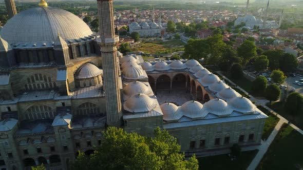 Courtyard Of Historic Mosque