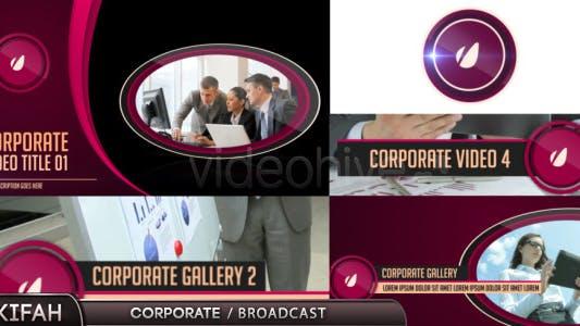 Corporate / Broadcast