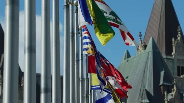 Thumbnail for Provincial territorial flags of Canada