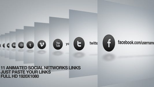Thumbnail for Social network links