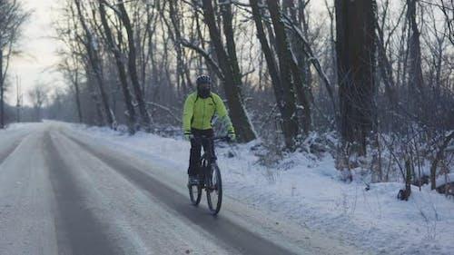Radsport im Winter