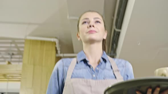 Thumbnail for Beautiful Waitress with Tray
