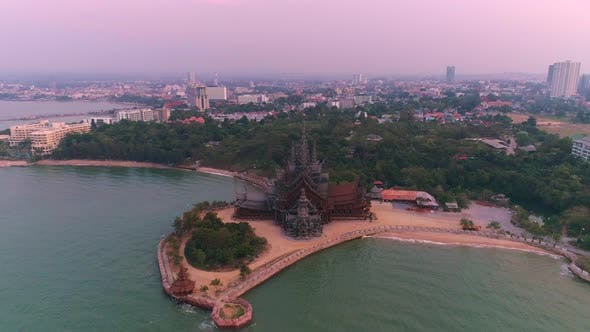 Thumbnail for Wooden temple in Pattaya