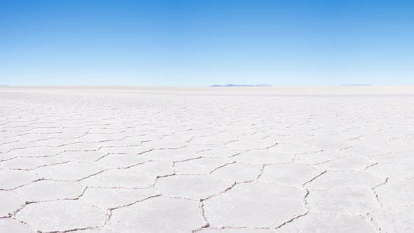 Cover Image for Uyuni Salt Flat panoramic view travel destination in the Andes, Bolivia, South America