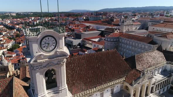 Thumbnail for Coimbra From University Tower View, Portugal