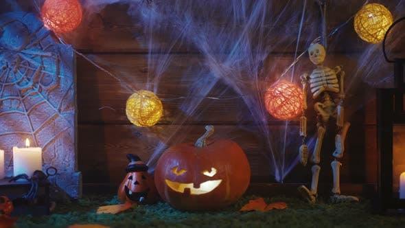 Hintergrund für eine gruselige Halloween-Party