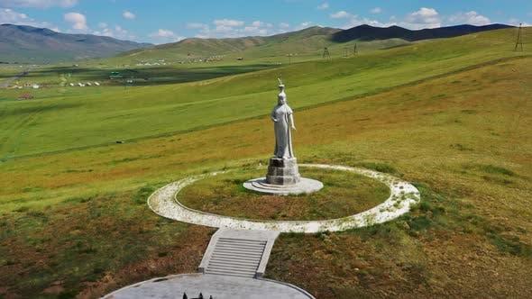 Statue der mongolischen Mutter