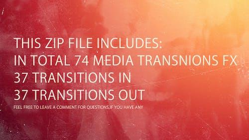 Media Transitions FX Pack Vol.2