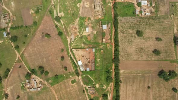 Thumbnail for Africa Mali Village Aerial View 26