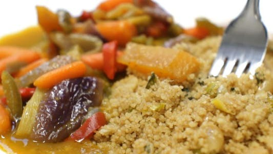 Thumbnail for Traditional Indian Curry Ragout with Couscous