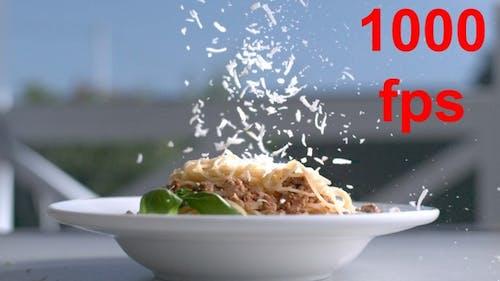 Pasta Spaghetti mit Käse