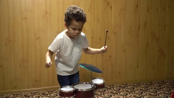 Thumbnail for Boy Playing Drums