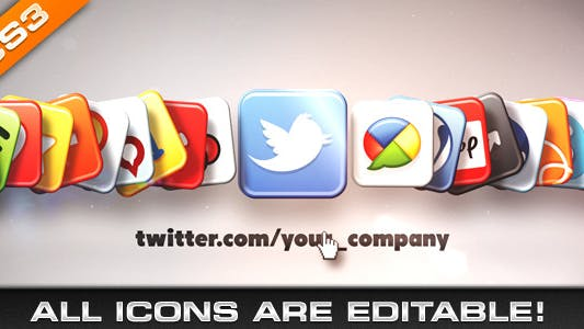 Thumbnail for Media & Social Networks Icons
