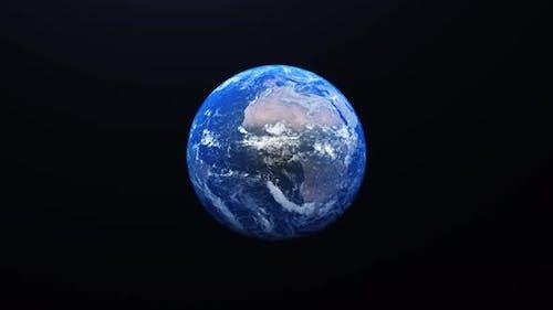 Pleanet Earth 4k Zoom