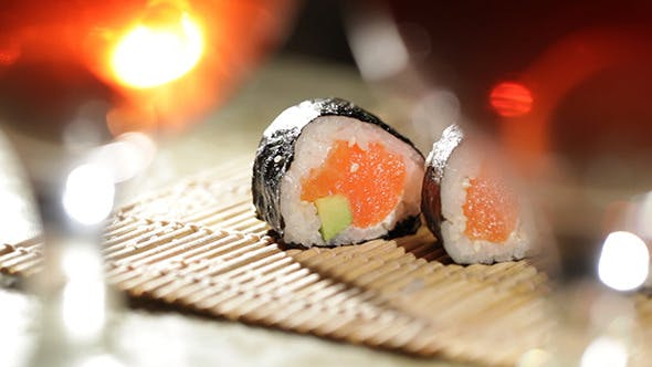 Cover Image for Sushi Rolls And Plum Wine