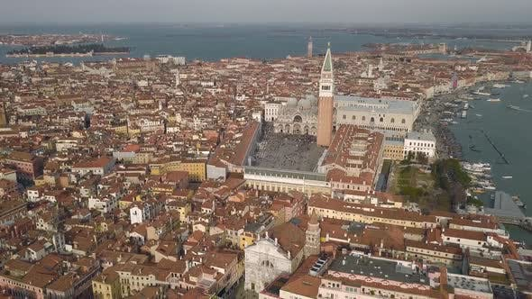 Aerial View of St. Mark's Square